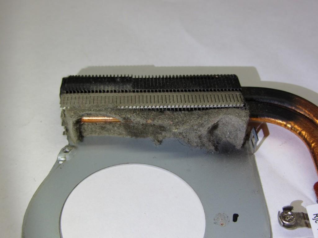 почтистить радиатор ноутбука