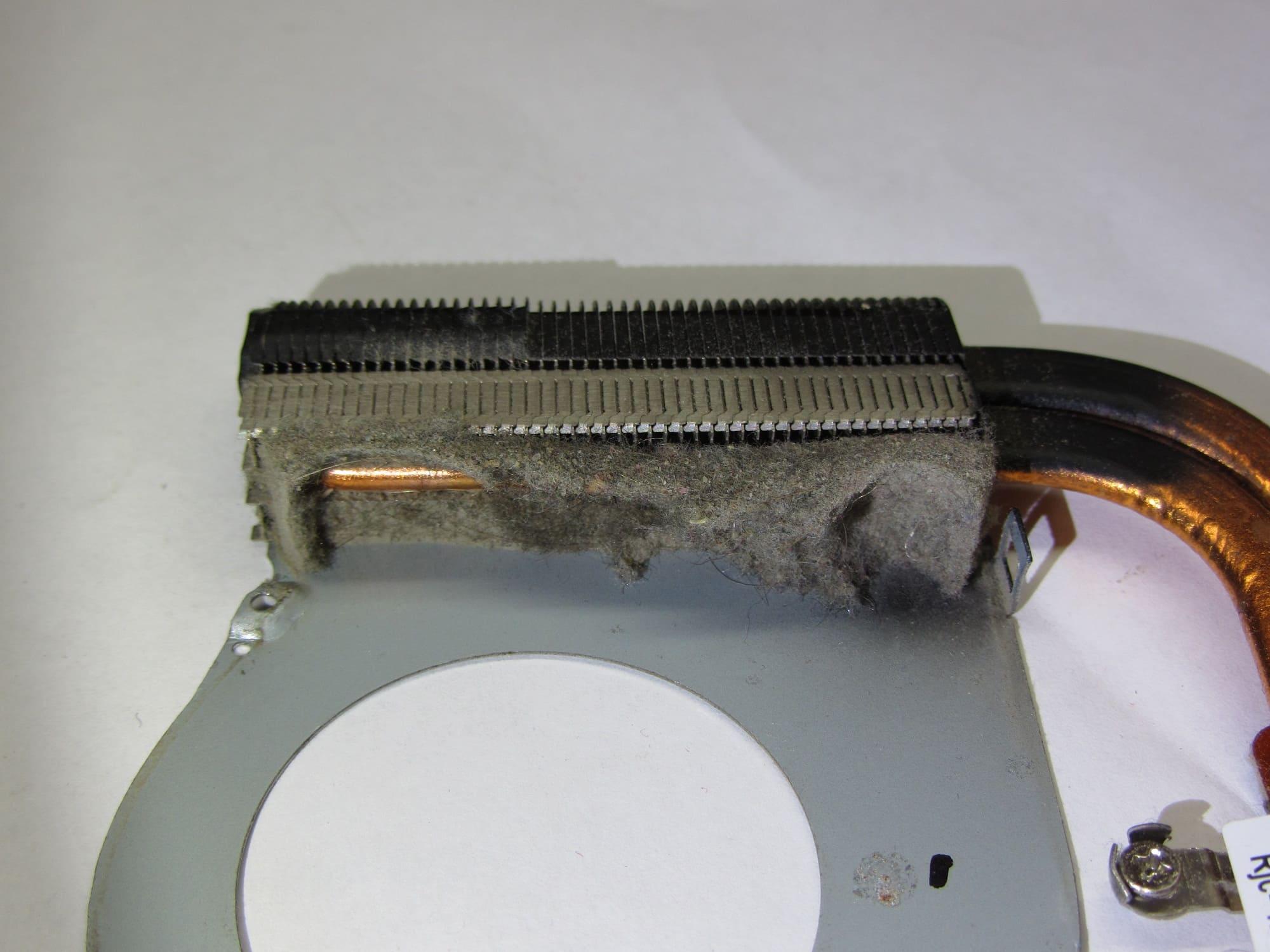 Чистка системы охлаждения ноутбука в Минске